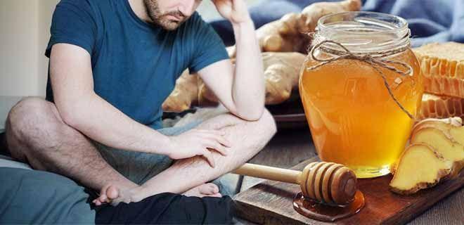 Мёд с имбирём для потенции
