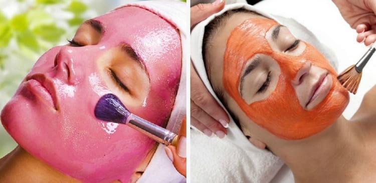 Для молодой и более жирной кожи в маски можно добавлять фруктовую мякоть.