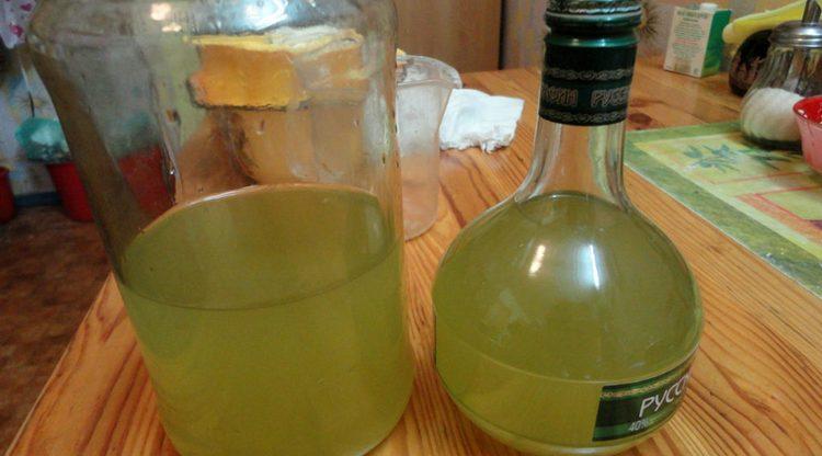 Можно на основе измельченных листьев агавы приготовить целебную настойку.