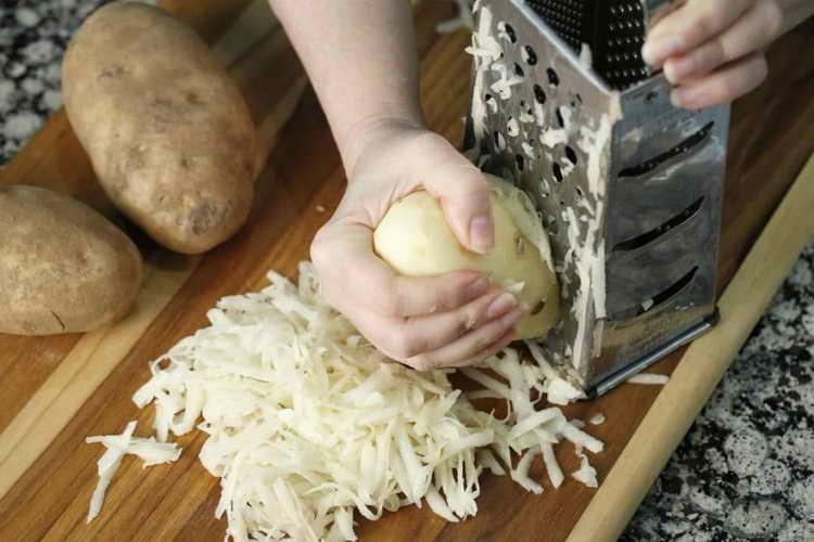 лечение сухого кашля у детей картошкой
