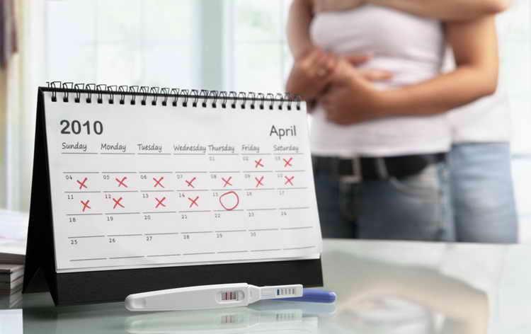 на каком сроке можно определить беременность