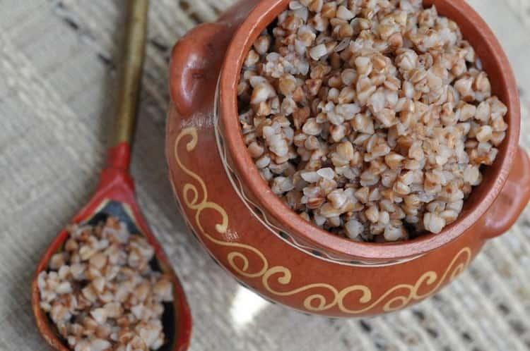 Из круп можно есть гречку, рис.