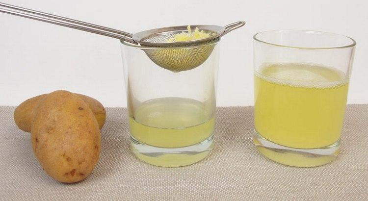 для лечения миомы матки можно использовать свежий картофельный сок.