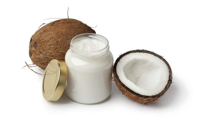 маска для роста волос с кокосовым: маслом