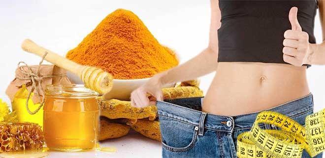 Куркума с медом для похудения