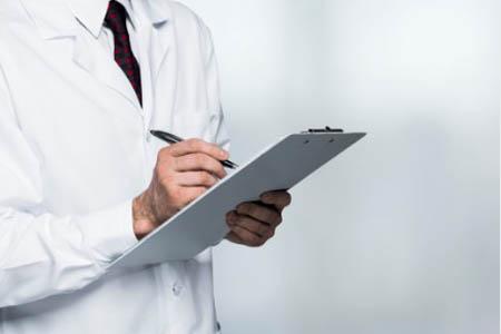 Назначения врача при патологии