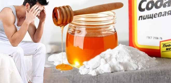 Сода и мёд для потенции