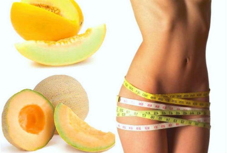 Дыня приносит пользу не только для здоровья, но и для красоты,поскольку способствует похудению.