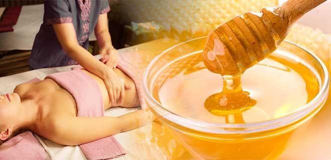 Медовый массаж тела