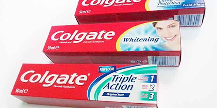 Сангвинария в составе зубных паст колгейт