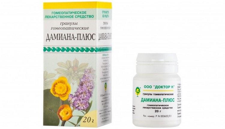 На основе растения выпускаются также гомеопатические препараты для повышения потенции.