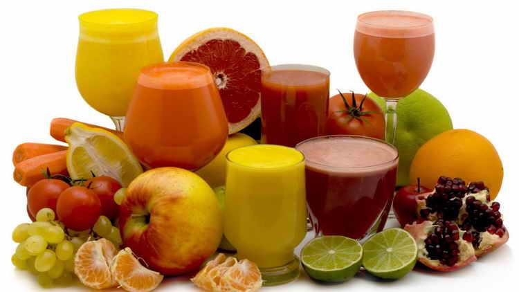 свежие соки для чистки организма от токсинов