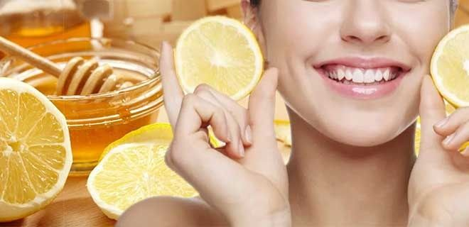 Мед и лимон для лица