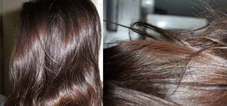Волосы становятся более блестящими и крепкими после таких масок.