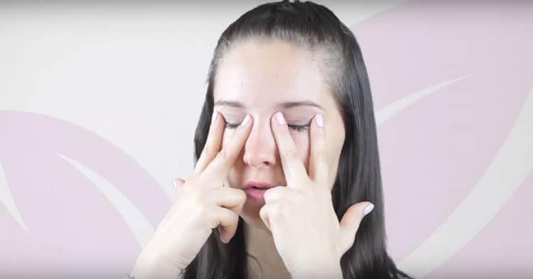 упражнения для лица от морщин: видео