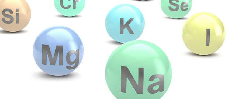 Минеральные вещества в составе маниоки