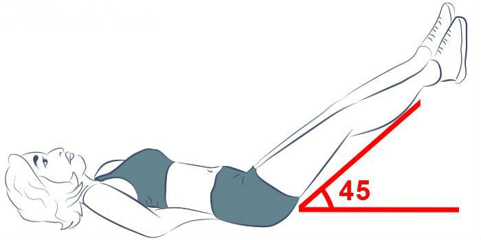 Упражнение утюжок