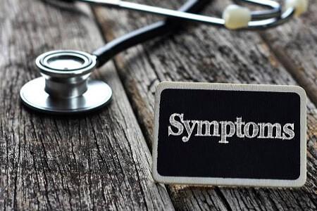 Первые признаки и симптомы заболевания