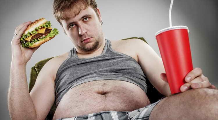 Причины избыточного веса у мужчин