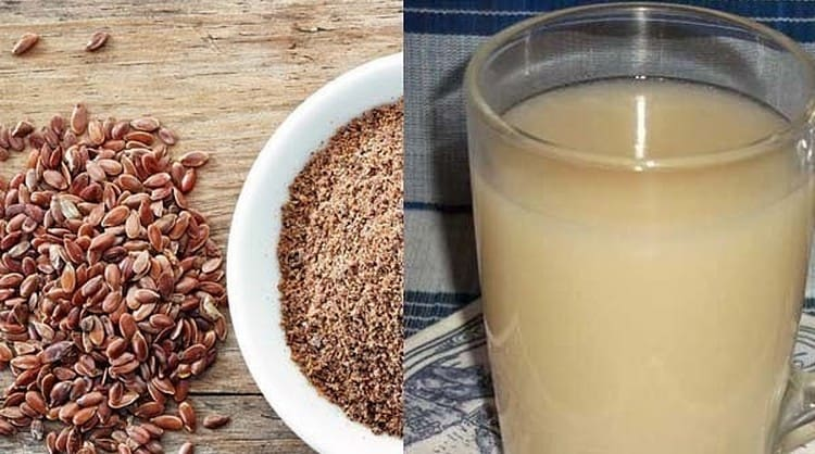 Для лечения сильной горечи во рту можно применять кисель из семян льна.