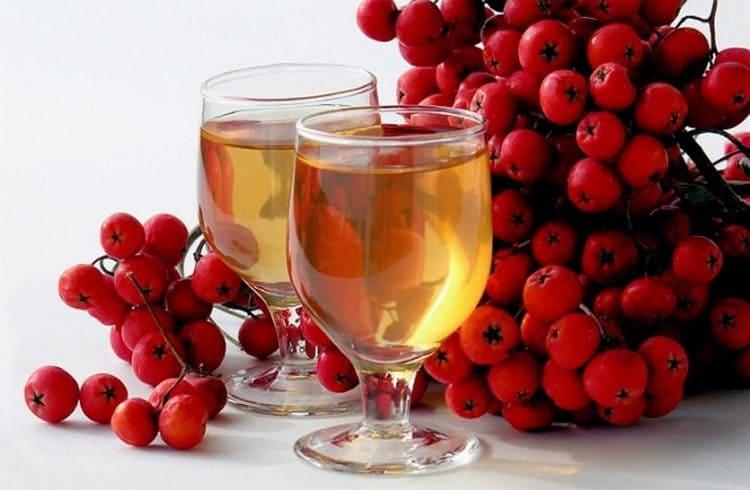 Можно использовать и свежий сок красной рябины.