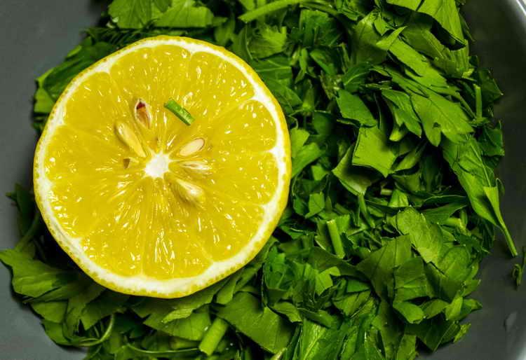 как очистить кровь лимоном