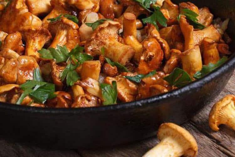 Есть множество невероятно вкусных блюд с этими грибами.