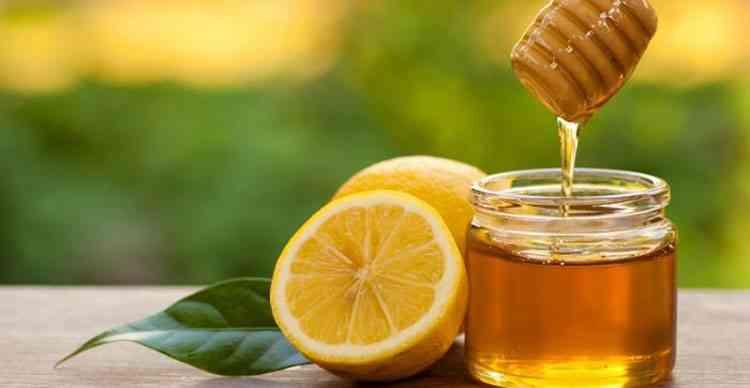 Маска для лица с медом и лимонным соком