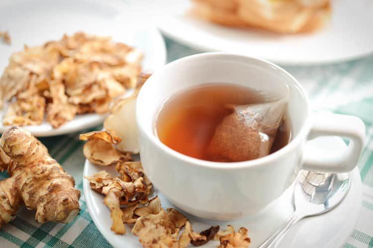 КАк приготовить чай с топинамбуром