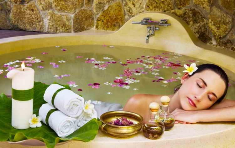 Ванна с аромамаслом для повышения эстрогена