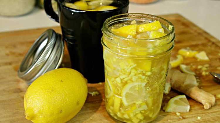 льняное масло мед лимон чеснок рецепт