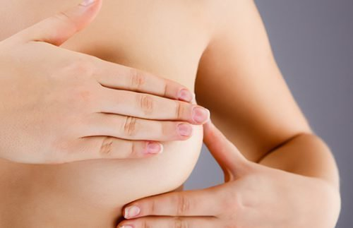 Папиллома на груди