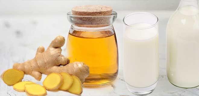 Молоко с имбирем и медом