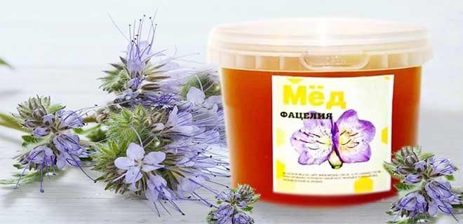 Фацелиевый мёд