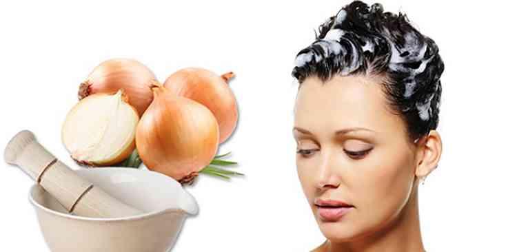 Маска для волос с луком и медом
