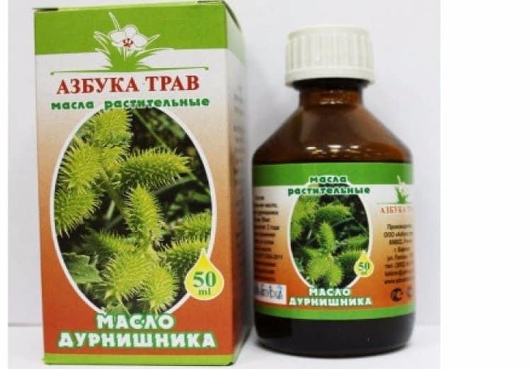 Масло дурнишника помогает лечить экзему и прочие заболевания кожи.