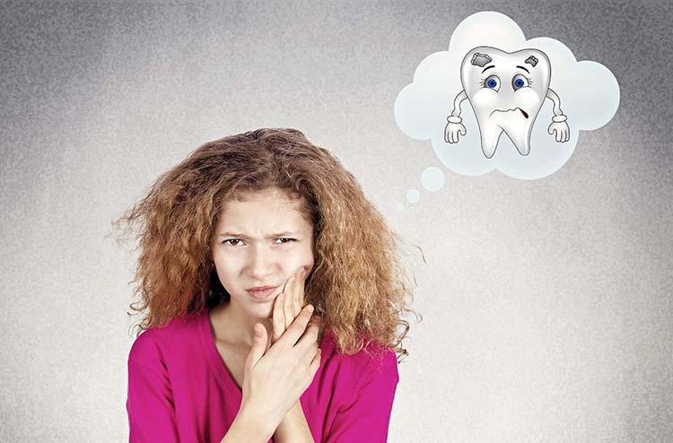 Снятие зубной боли, флюса при помощи лиственницы