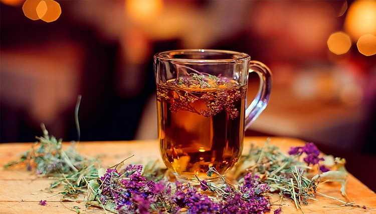 Противогрибковый чай от грибка на ногтях
