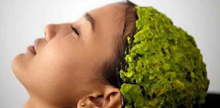 Авокадо маска для волос