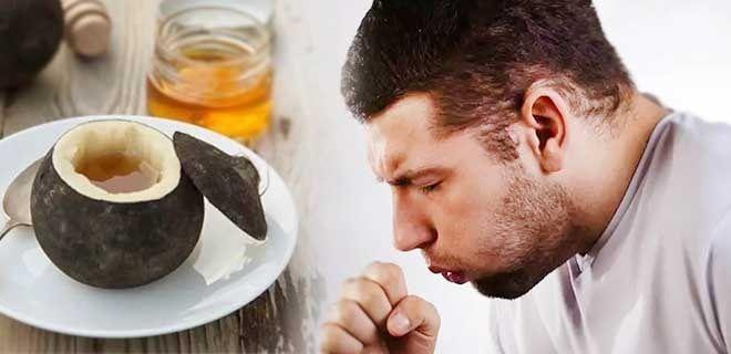 Редька с медом при кашле