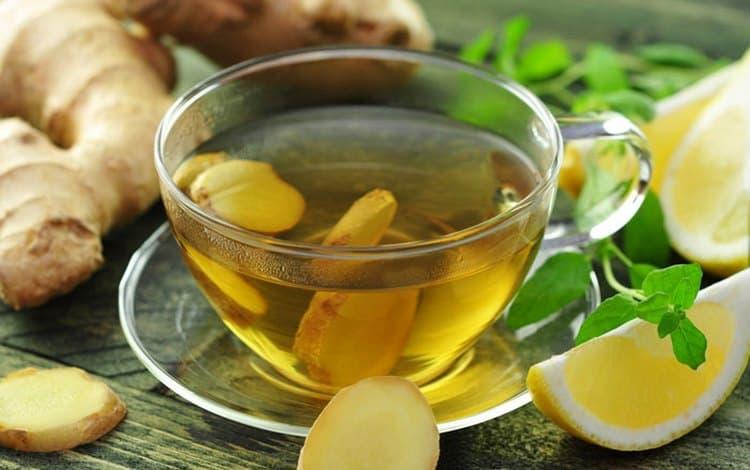 для профилактики полезно будет пить имбирный чай с лимоном и медом.