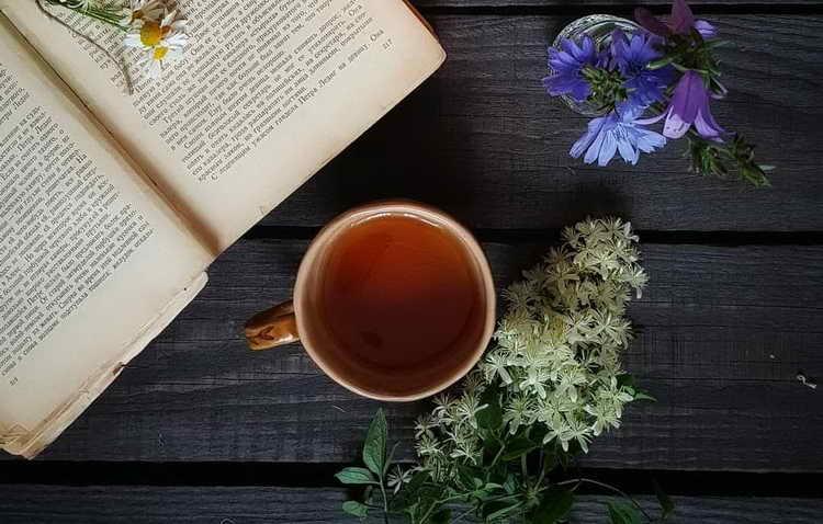 Успокаивающийжелудок чай
