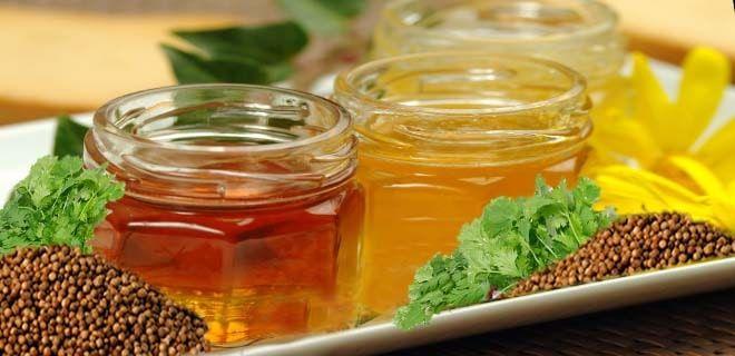 Мед из кориандра